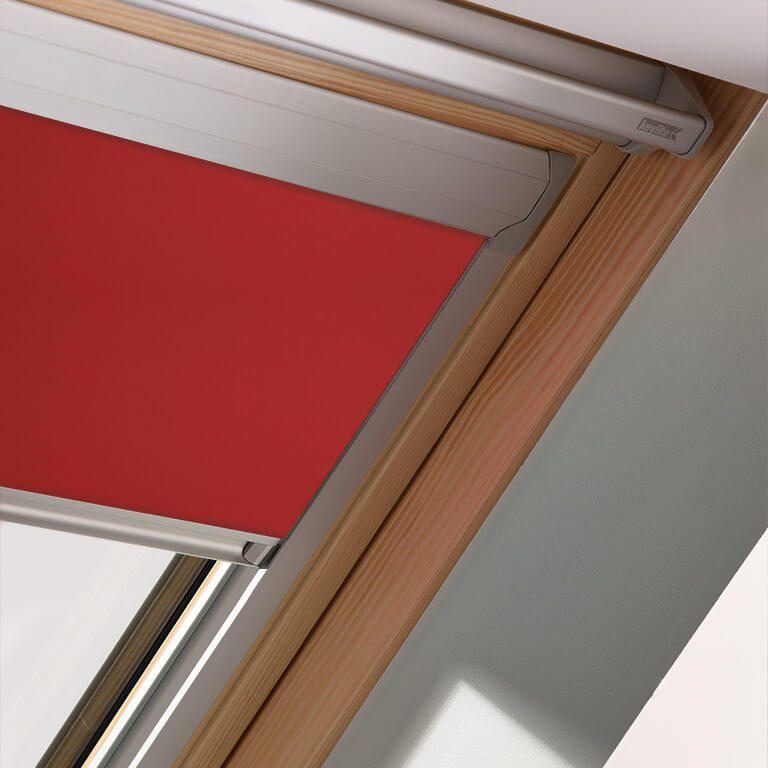 Keylite Blinds - Style blind in our Cranberry Crunch