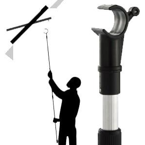 Window Opening Pole Keylite Blinds